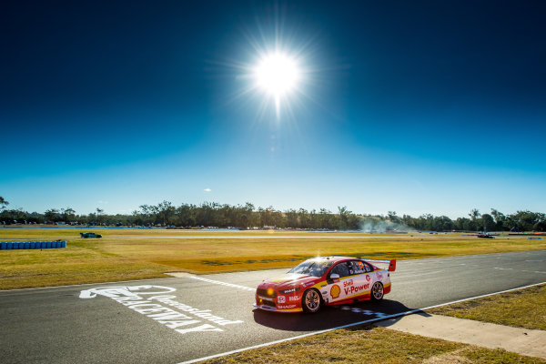 2017 Supercars Championship Round 8.  Ipswich SuperSprint, Queensland Raceway, Queensland, Australia. Friday 28th July to Sunday 30th July 2017. Scott McLaughlin, Team Penske Ford.  World Copyright: Daniel Kalisz/ LAT Images Ref: Digital Image 280717_VASCR8_DKIMG_7866.jpg