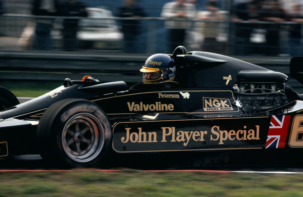 Zolder, Belgium. 19 - 21 May 1978. Ronnie Peterson (Lotus 79-Ford), 2nd position, action.  World Copyright: LAT Photographic. Ref: 78BEL12
