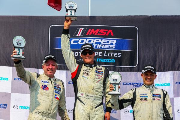 10-12 July 2015, Bowmanville, Ontario Canada Race 2, Cooper Tire Prototype Lites, L1 Masters Podium ?2015, Jake Galstad LAT Photo USA