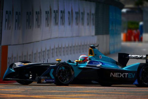 Suzuka Circuit, Japan. Sunday 09 October 2016. Nelson Piquet (3, NextEV NIO) World Copyright: Zak Mauger/LAT Photographic ref: Digital Image _L0U0903