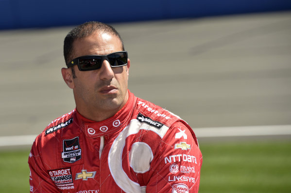 Tony Kanaan (BRA) Target Ganassi Racing.