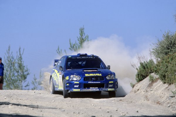 2003 World Rally Championship.