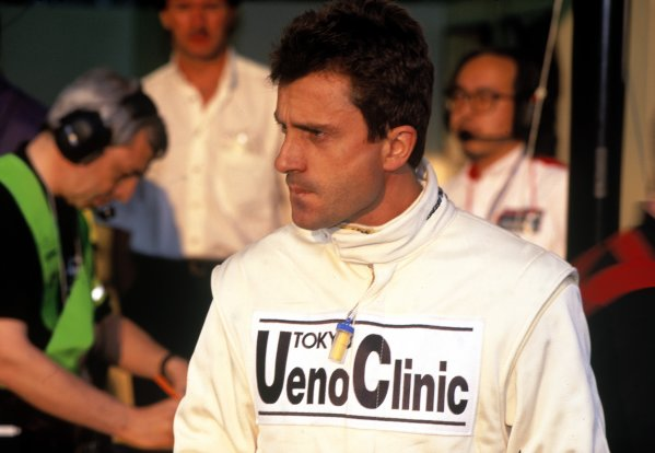 1995 Le Mans 24 HoursLe Mans, France. 17th - 18th June 1995.Yannick Dalmas (McLaren F1 GTR) portrait.World Copyright: LAT Photographicref: 35mm Transparency.