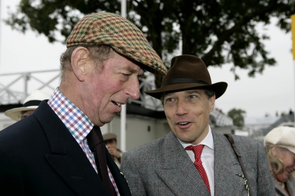2006 Goodwood Revival Meeting. Goodwood, West Sussex. 2nd - 3rd September 2006 Lord March holds a Royal conversation.World Copyright: Gary Hawkins/LAT Photographic ref: Digital Image Only
