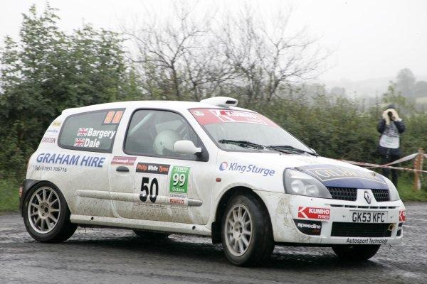 2006 British Rally ChampionshipUlster Rally, Armagh.2nd September 2006Justin DaleWorld Copyright - Ebrey/LAT Photographic