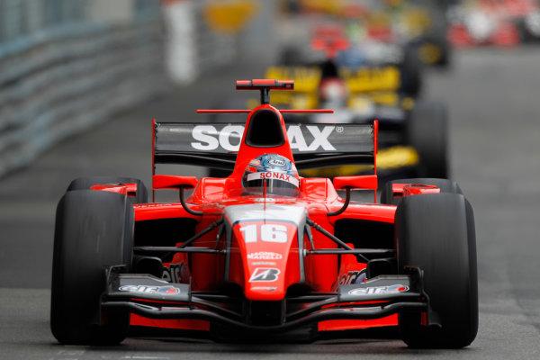 Monte Carlo, Monaco. 15th May 2010. Saturday Race.Charles Pic (FRA, Arden International). Action. Photo: Andrew Ferraro/GP2 Media Service.Ref: _Q0C7461 jpg