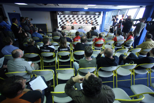 Le Mans, France. 16th - 17th May 2009.Pre event press conference.World Copyright: Martin Heath/LAT Photographicref: BPI_Moto 898l