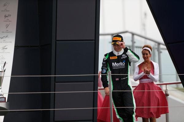 2014 GP3 Series Round 3. Silverstone International Circuit, Silverstone, Northamptonshire, England Sunday 6 July 2014. Nick Yelloly (GBR, Status Grand Prix)  Photo: Adam Warner/GP3 Series Media Service. ref: Digital Image _SBL7712