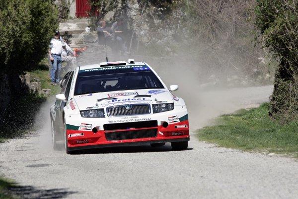 2006 FIA World Rally Champs. Round 5 Rally de France 5-8 April 2006 Jan Kopecky, Skoda, actionWorld Copyright: McKlein/LAT