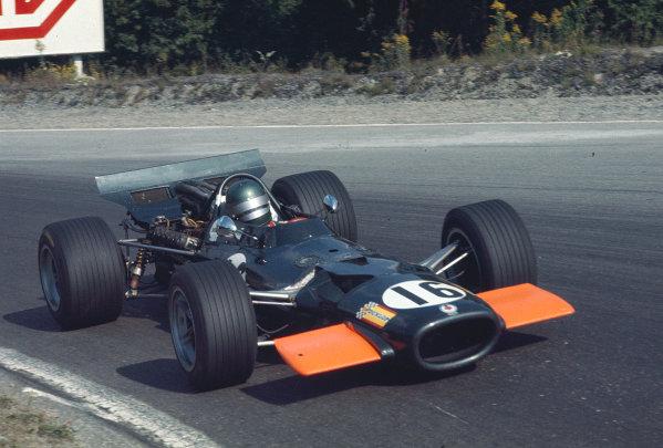 1969 Canadian Grand Prix.Mosport Park, Ontario, Canada.18-20 September 1969.Bill Brack (BRM P138).Ref-69 CAN 22.World Copyright - LAT Photographic