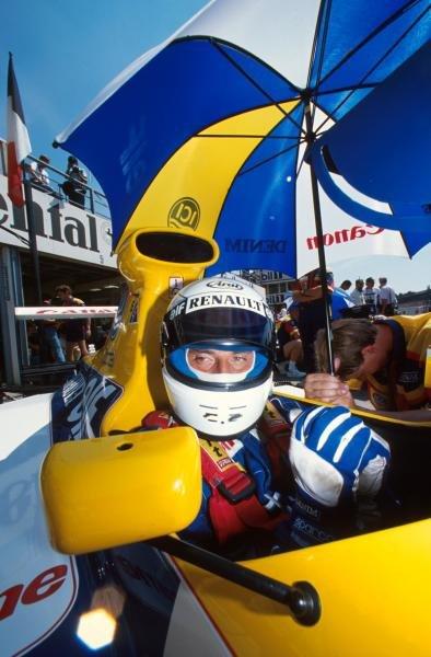 Riccardo Patrese(I), Williams FW13B, 5th place German GP, Hockenheim, Germany, 29 July 1990