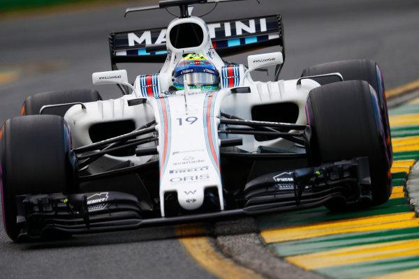Albert Park, Melbourne, Australia. Saturday 25 March 2017. Felipe Massa, Williams FW40 Mercedes. World Copyright: Steven Tee/LAT Images ref: Digital Image _R3I0313