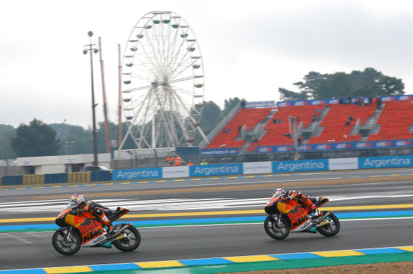 2017 Moto3 Championship - Round 5 Le Mans, France Saturday 20 May 2017 Niccolo Antonelli, Red Bull KTM Ajo World Copyright: Gold & Goose Photography/LAT Images ref: Digital Image 671077