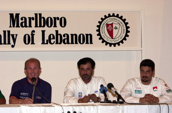 2001 FIA Middle East Rally Championship.