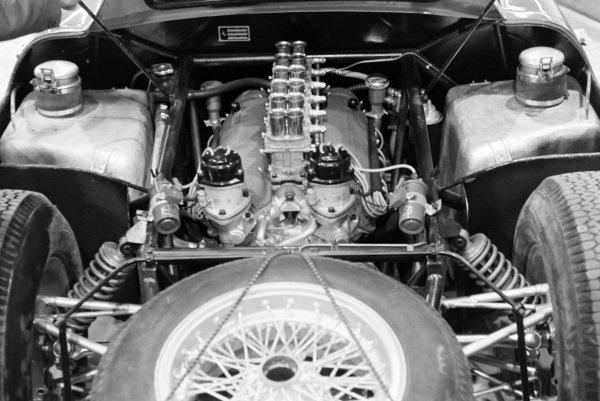 Ferrari 250LM V12 engine