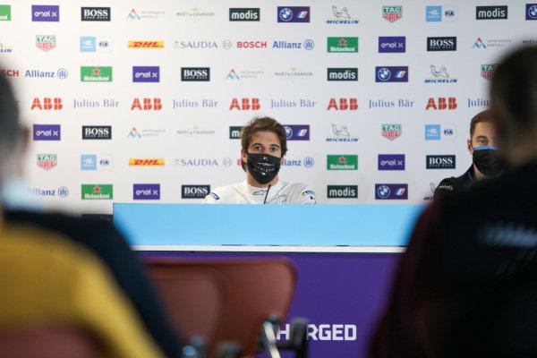 Antonio Felix da Costa (PRT) DS Techeetah, in the press conference