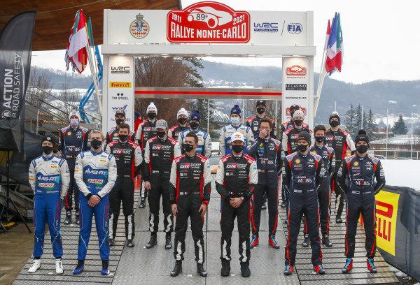 WRC Drivers Group Shot 2021