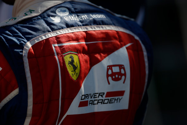 2016 GP3 Series Round 1 Circuit de Catalunya, Barcelona, Spain. Sunday 15 May 2016. Antonio Fuoco (ITA, Trident)  Photo: Sam Bloxham/GP3 Series Media Service. ref: Digital Image _L4R9687