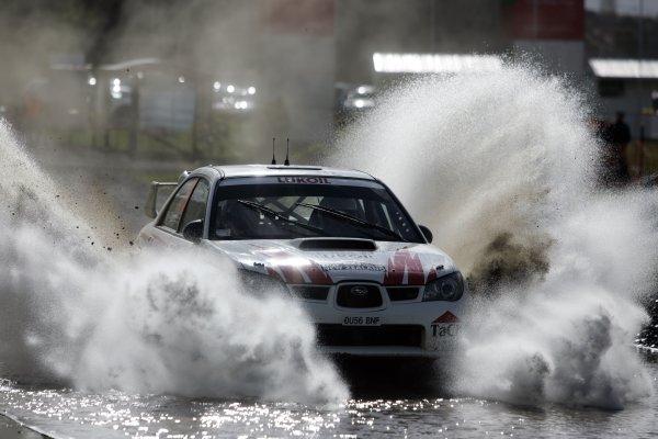 2007 FIA World Rally Champs. Round 11Rally New Zeland, 31st  August - 2nd  September 2007Niall McShea, Subaru, actionWorld Copyright: McKlein/LAT