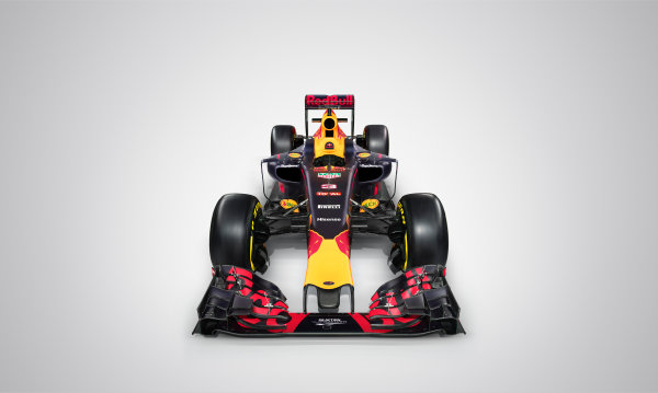 Red Bull Racing RB12 Studio Images. Milton Keynes, UK. Saturday 20 February 2016. The Red Bull RB12. Photo: Red Bull Content Pool (Copyright Free FOR EDITORIAL USE ONLY) ref: Digital Image 20160220_REDBULL_RB12_02