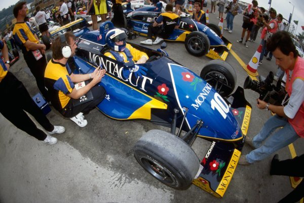David Coulthard (GBR), Paul Stewart Racing, won the Macau Grand Prix.Macau Grand Prix, Macau, Hong Kong, 24 November 1991.