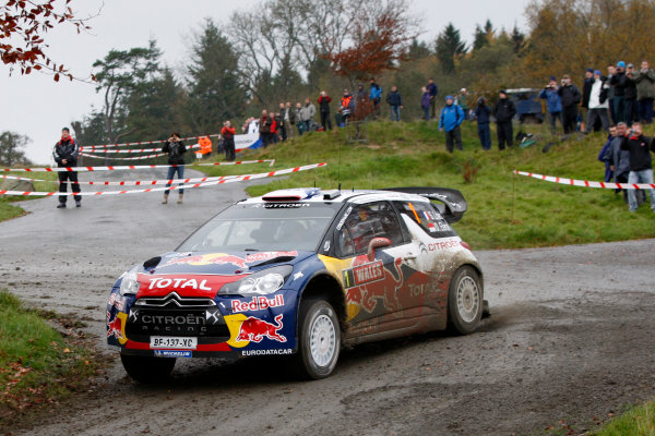 Round 13 - Wales Rally GB. 10th-13th November 2011. Sebastien Loeb, Citroen, ActionWorldwide Copyright: McKlein/LAT