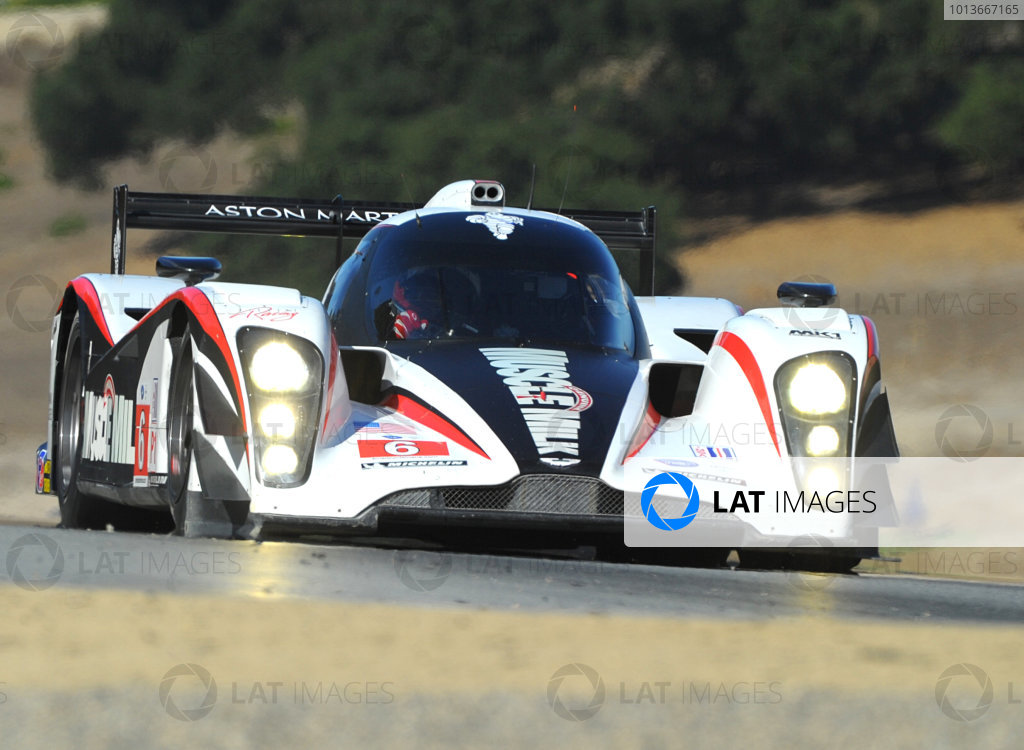 16-18 September, 2011, Monterey, California USA#6 Muscle Milk Aston Martin Racing AMR/Lola Coupe B08 62(c)2011,  Dan R. Boyd  LAT Photo USA