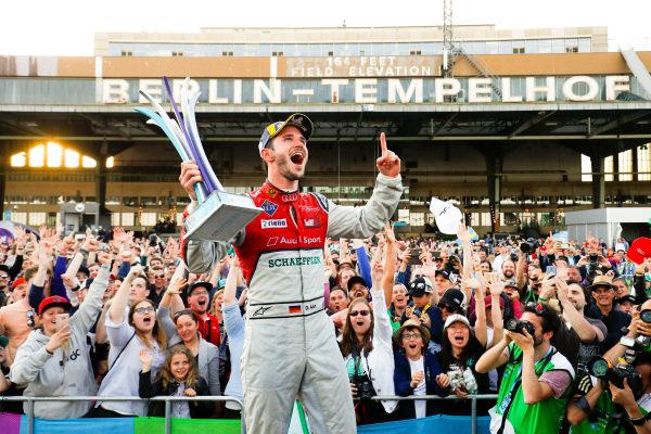 Daniel Abt (GER), Audi Sport ABT Schaeffler, Audi e-tron FE04, wins the Berlin ePrix.