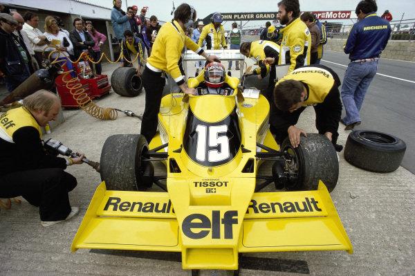 Jean-Pierre Jabouille, Renault RS01.