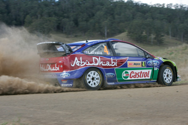 Round 10Rally Australia 3rd-6th September  2009Mikko Hirvonen, Ford, WRC, Action.Worldwide Copyright: McKlein/LAT