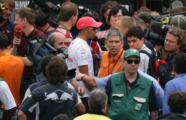 2007 Brazilian Grand Prix - ThursdayInterlagos, Sao Paulo, Brazil18th October 2007.xxxWorld Copyright: Steve Etherington/LAT Photographicref: Digital Image WI2T7630