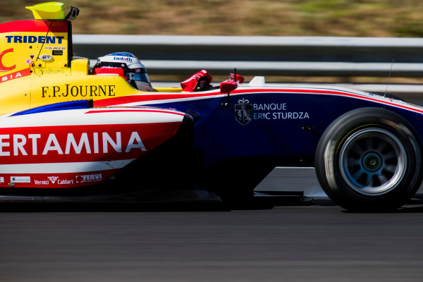 2017 GP3 Series Test 4.  Hungaroring, Budapest, Hungary. Wednesday 7 June 2017. Giuliano Alesi (FRA, Trident)  Photo: Zak Mauger/GP3 Series Media Service. ref: Digital Image _56I2398