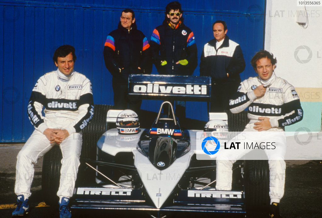 1986 Brabham BT55 Launch.