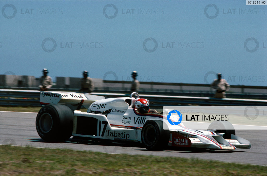 Anderstorp, Sweden. 15-17 June 1978. Clay Regazzoni (Shadow DN9-Ford) 5th position, practice action. World Copyright: LAT Photographic. Ref: 78SWE