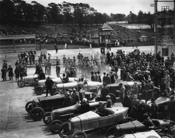 1925 BARC Whitsun Bank Holiday Meeting.