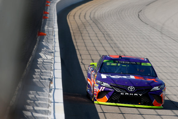 Monster Energy NASCAR Cup Series Tales of the Turtles 400 Chicagoland Speedway, Joliet, IL USA Friday 15 September 2017 Denny Hamlin, Joe Gibbs Racing, FedEx Office Toyota Camry World Copyright: Lesley Ann Miller LAT Images