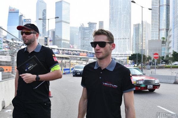 2017/2018 FIA Formula E Championship. Riound 1 - Hong Kong, China. Thursday 21 July 2016. Maro Engel (GER), Venturi Formula E Team, Venturi VM200-FE-03 Photo: Mark Sutton/LAT/Formula E ref: Digital Image DSC_0006