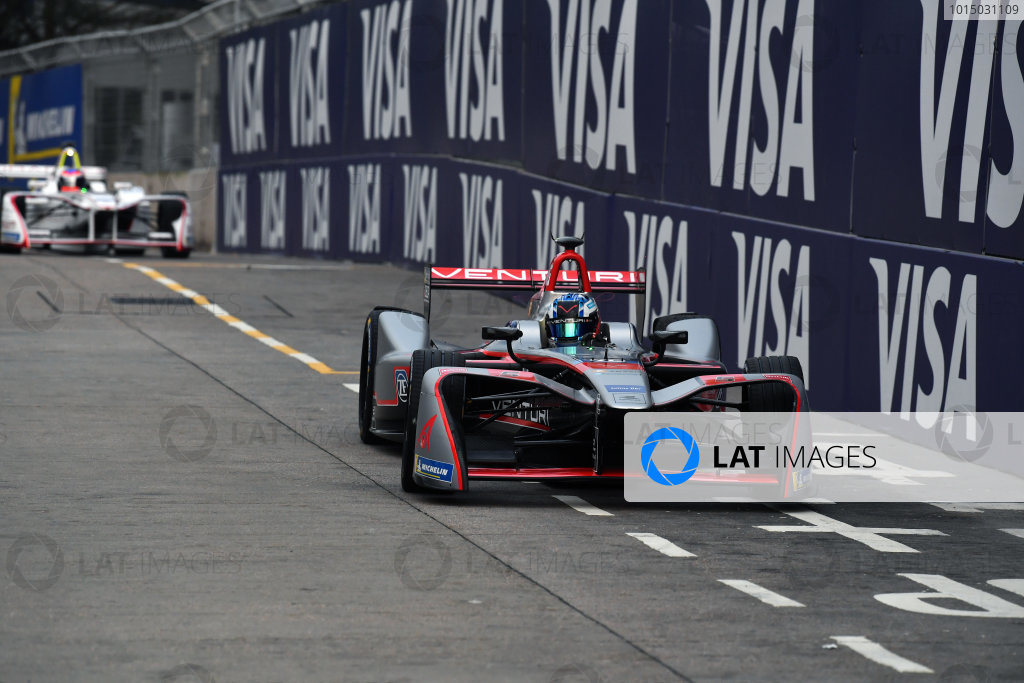 2017/2018 FIA Formula E Championship. Round 1 - Hong Kong, China. Saturday 02 December 2018. Edoardo Mortara (ITA) Venturi Formula E, Venturi VM200-FE-03.  Photo: Mark Sutton/LAT/Formula E ref: Digital Image DSC_8318