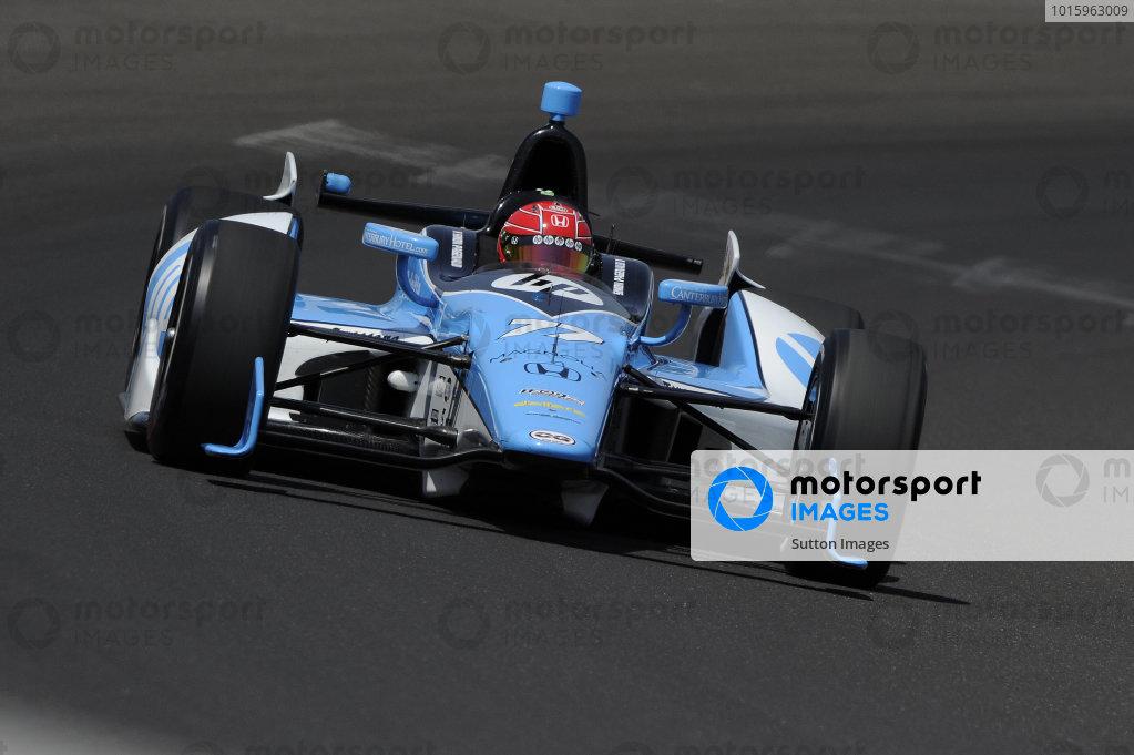 Simon Pagenaud (FRA), Schmidt/Hamilton Motorsports. IndyCar World Series, Rd5, Indianapolis 500, Indianapolis Motor Speedway, Indianapolis, USA, 12-27 May 2012.