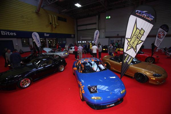 Autosport International Show NEC, Birmingham.  Sunday 12 January 2014. Festival Hall. World Copyright:Sam Bloxham/LAT Photographic ref: Digital Image IMG_8331