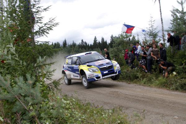 Round 08Rally Finland 29-31 July 2010Patrik Sandell, Skoda S2000, ActionWorldwide Copyright: McKlein/LAT