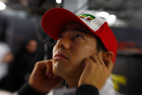 Suzuka Circuit, Suzuka, Japan.9th October 2010.Sakon Yamamoto, HRT F1 F110-02. Portrait. World Copyright:Charles Coates/LAT Photographicref: Digital Image _26Y8276