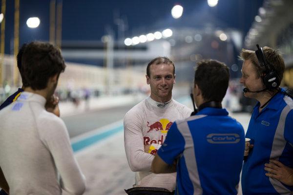 2015 GP2 Series Test 3. Yas Marina Circuit, Abu Dhabi, United Arab Emirates. Thursday 3 December 2015. Dean Stoneman (GBR, Carlin)  World Copyright: Sam Bloxham/LAT Photographic. ref: Digital Image _SBL2611