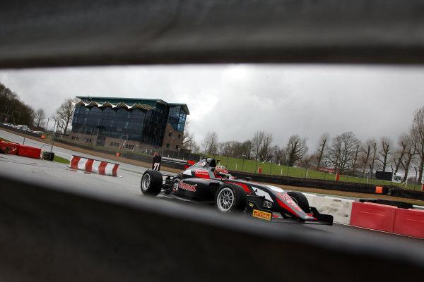 2016 BRDC British Formula 3 Championship, Brands Hatch, Kent. 16th - 17th April 2016. Aleksanteri Huovinen (FIN) Double R Racing BRDC F3. World Copyright: Ebrey / LAT Photographic.