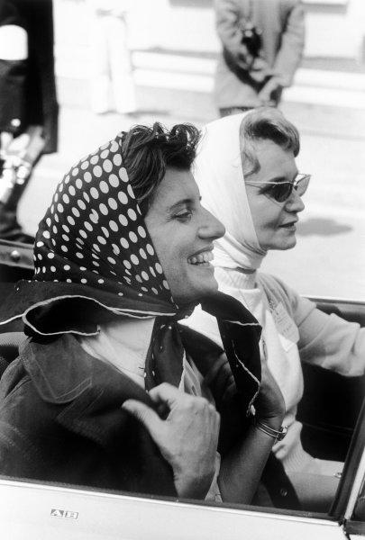 1958 Belgian Grand Prix. Spa-Francorchamps, Belgium. 13th - 15th June 1958. Maria Teresa de Filippis (Maserati 250F), 10th position, portrait.  World Copyright: LAT Photographic.