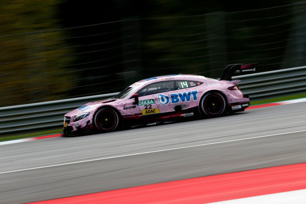 2017 DTM Round 8  Red Bull Ring, Spielberg, Austria  Friday 22 September 2017. Lucas Auer, Mercedes-AMG Team HWA, Mercedes-AMG C63 DTM  World Copyright: Alexander Trienitz/LAT Images ref: Digital Image 2017-DTM-RBR-AT2-0512