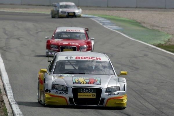 Olivier Jarvis (GBR)  Audi Sport Team Phoenix  DTM, Rd 1, Hockenheim, Germany, 12-13 April 2008.