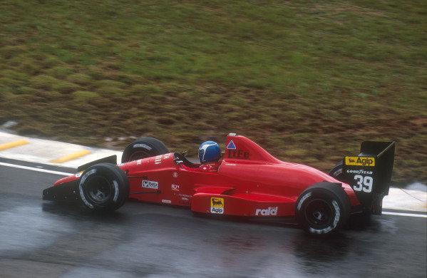 1990 Brazilian Grand Prix.Interlagos, Sao Paulo, Brazil.23-25 March 1990.Gary Brabham (Life 190). He failed to pre-qualify.Ref-90 BRA 13.World Copyright - LAT Photographic