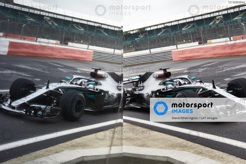 Mercedes F1 Team June testing