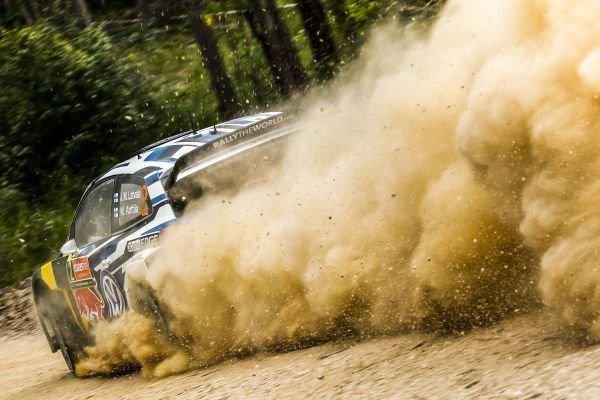 Jari-Matti Latvala (FIN) / Miikka Anttila (FIN), Volkswagen Polo R WRC at FIA World Rally Championship, R10, Coates Hire Rally Australia, Day One, Coffs Harbour, New South Wales, Australia, 11 September 2015.